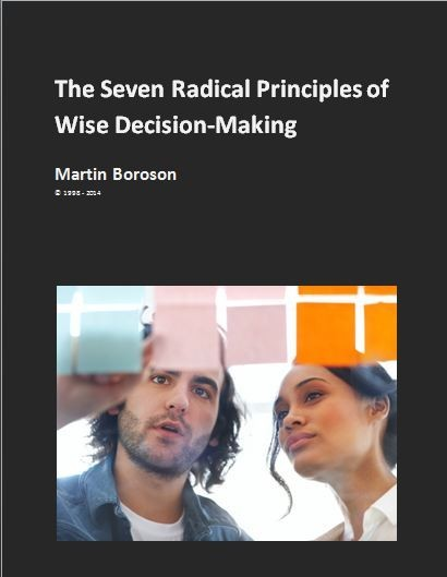 The Seven Radical Principles of Wise Decision-Making - cover